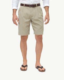 New St. Thomas 9.5-inch Double-Pleat Shorts