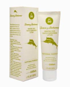 Natural Vanilla SPF 30 Mineral Face Tinted Sunscreen Lotion by COOLA®