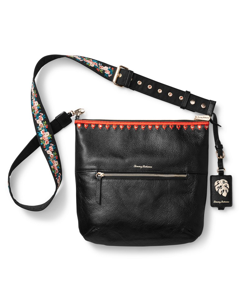 Main Image for Amelia Embroidered Leather Crossbody Clutch
