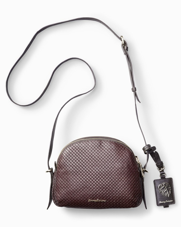Main Image for St. Augustine Double-Zip Leather Crossbody Bag