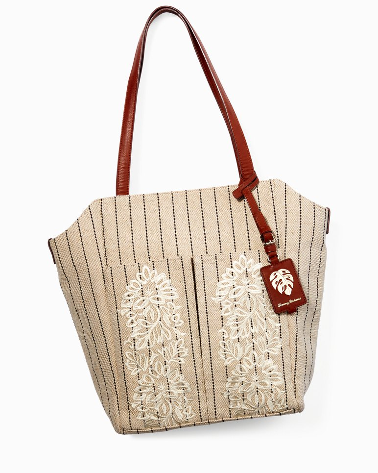 Main Image for Paradise Flower Linen Tote