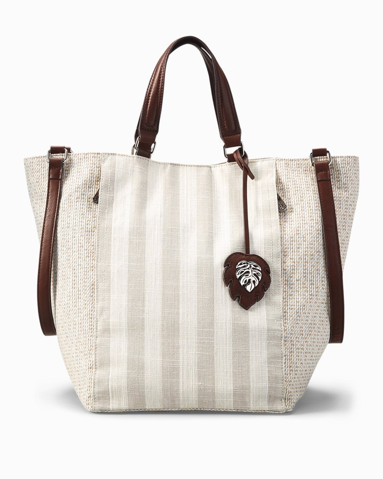 Main Image for Coral Reef Convertible Linen Tote