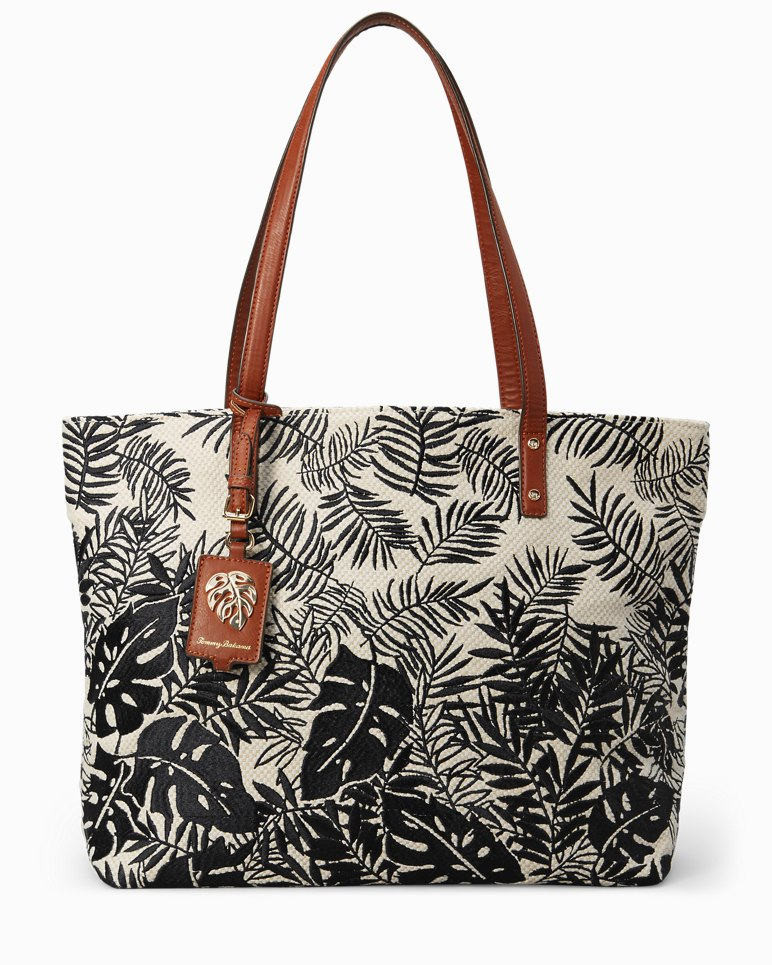 Main Image for Palm Beach Embroidered Linen Tote