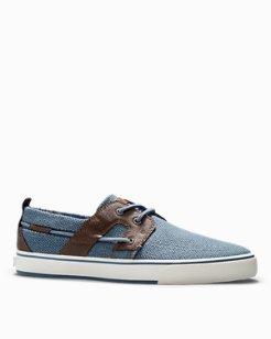 Stripe Breaker Boat Shoes