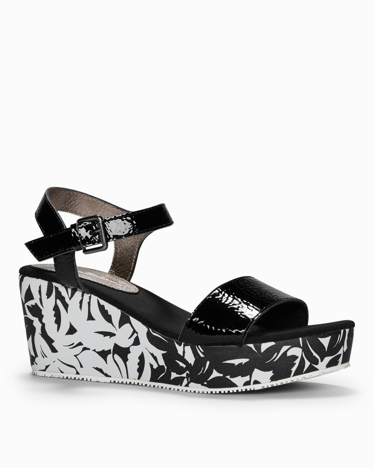 Main Image for Seleena Leather Wedge Sandals