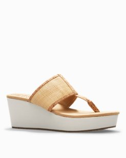 Sandrinn Wedge Sandals