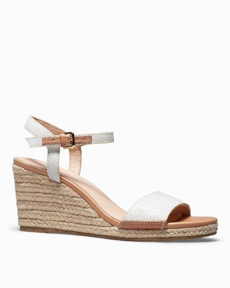 Main Image for Jelena Leather Wedge Sandals