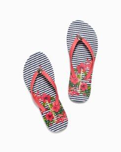 Whykiki Eros Botanical Flip Flops