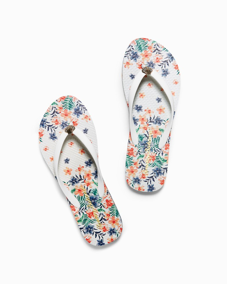 Main Image for Whykiki Floral Showers Flip Flops