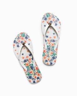 Whykiki Floral Showers Flip Flops