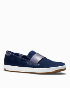 Relaxology® Cove Floral Slip-On Shoes