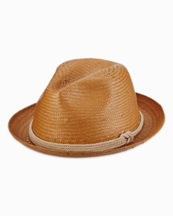 Paper Fedora With Rope