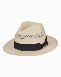 Open Weave Ivory Safari Hat