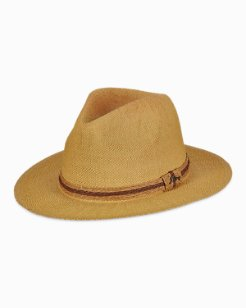 Canaves Fedora with Paper Tie