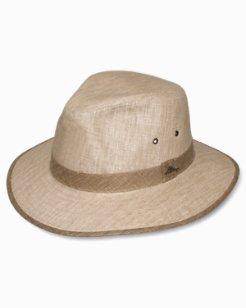 Grass Linen Safari Hat