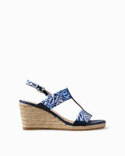 Jaidyn Jungle Breeze Liberty Wedge Sandals