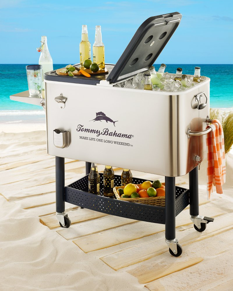 Party Beer Coolers Steel Rolling Party Cooler