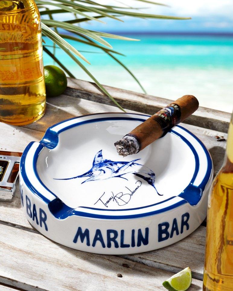 Marlin Bar Round Ashtray