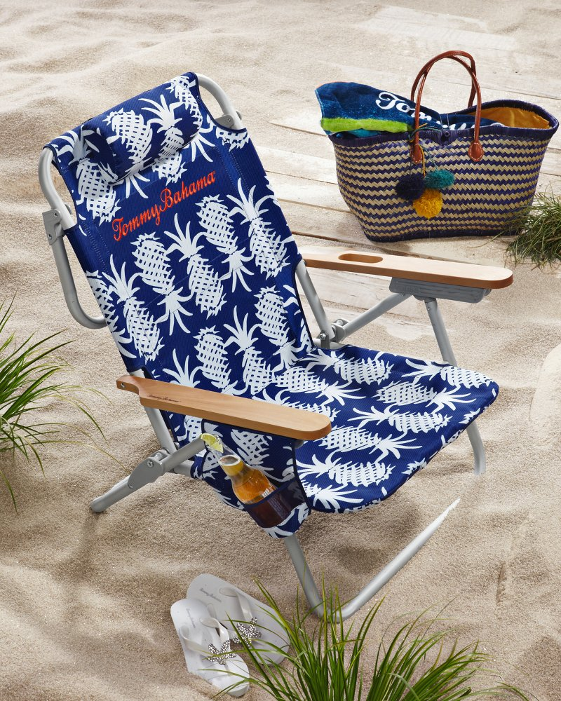 Tommy bahama pineapple deluxe backpack beach chair customer reviews