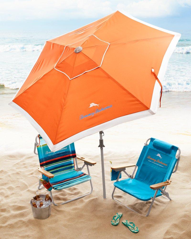 Tommy bahama orange deluxe 7 beach umbrella customer reviews