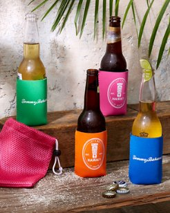 Tiki Insulating Drink Sleeves - Set of Four