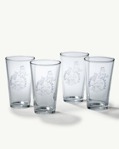Beer Today Pint Glasses - Set of 4