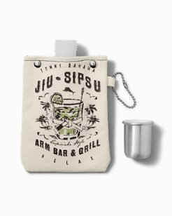Jiu Sipsu 4 Oz. Canvas Flask
