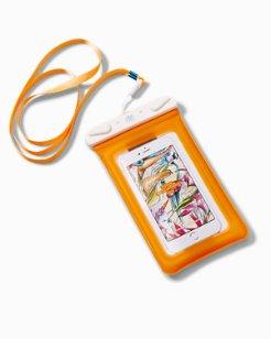 Dry Spell Water Defender Phone Bag in Rose Bed