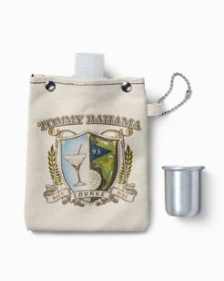 The 19th Hole 4 Oz. Canvas Flask