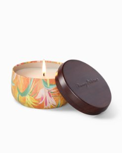 Paradise Blends Printed Travel Tin Candle