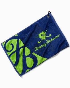 TB Jacquard Golf Towel