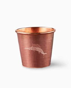 Etched Marlin Copper Tumbler