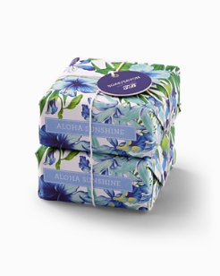 Hibiscus Soap - Set of 2