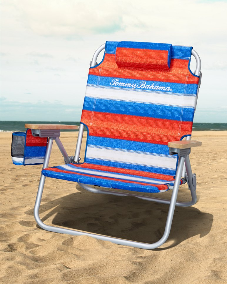 Main Image for Serape Stripe Deluxe Backpack Beach Chair