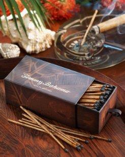 Fern-Print Box of Matches