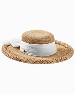 Medium Brim Scarf Hat