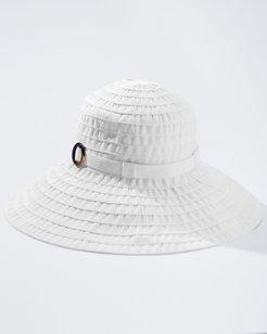 Large Brim Ribbon Hat