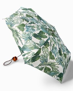 Leaf Print Umbrella