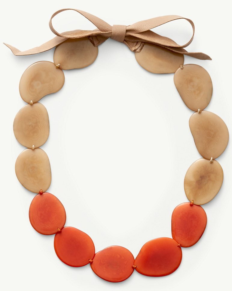 Main Image for Tagua Seed Disc Necklace