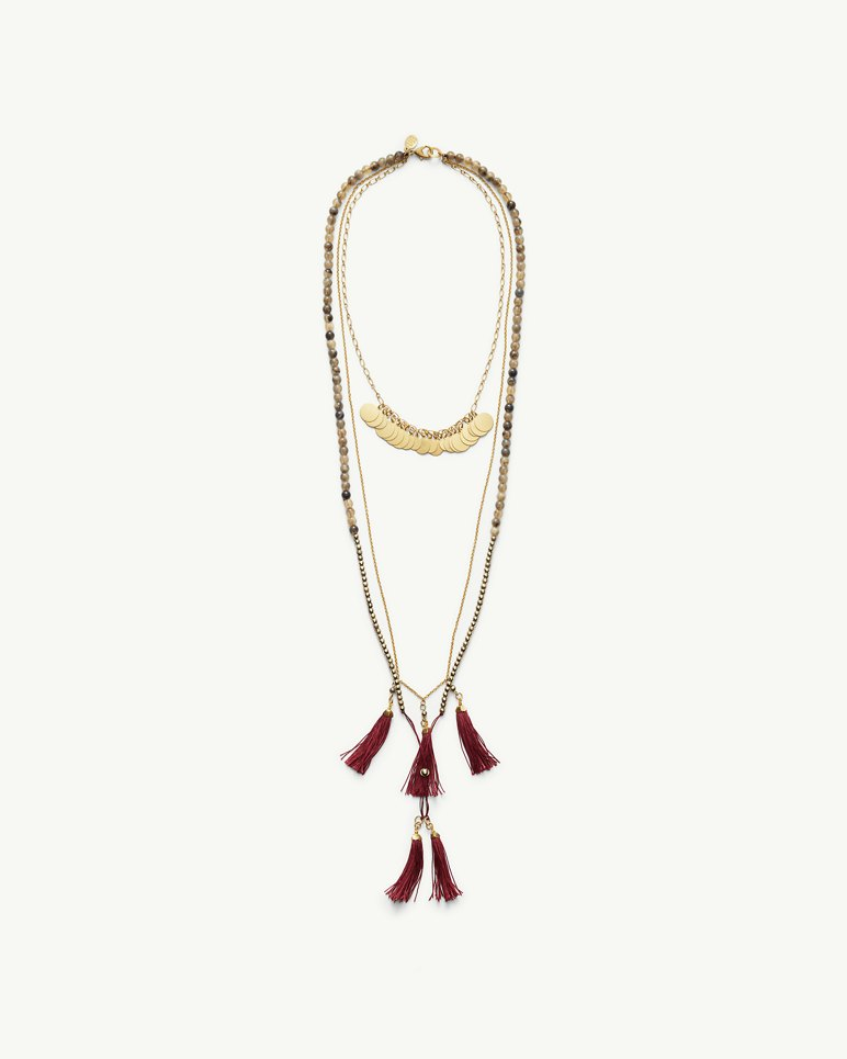 Main Image for Rum Berry Fringe Necklace