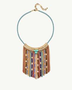 Equatorial Fringe Necklace