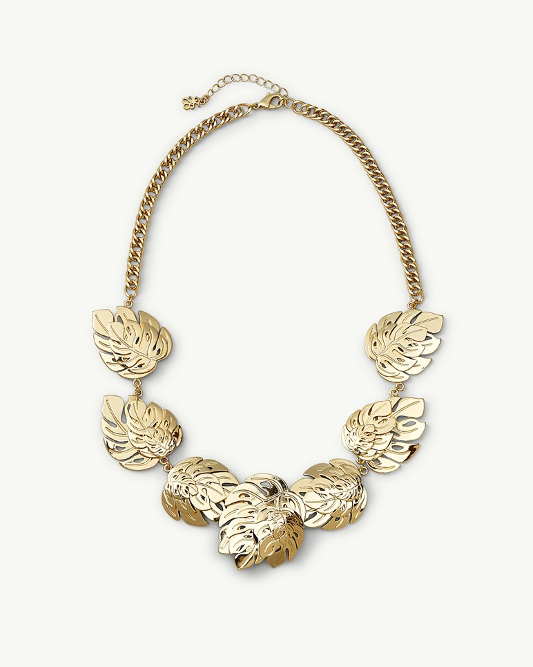 Main Image for Signature Leaf Collar Necklace