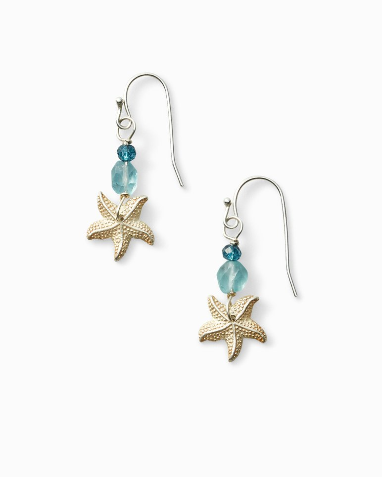 Main Image for Silver Starfish Earrings