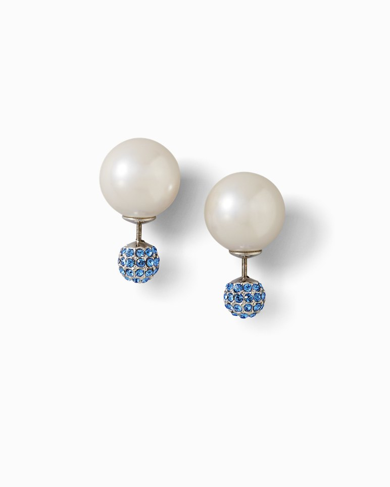 Main Image for Sapphire Swarovski Crystal® Front-To-Back Earrings