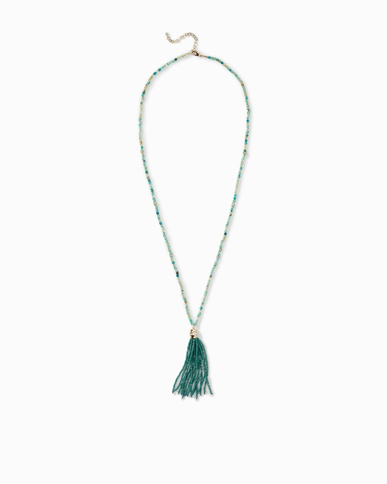 Main Image for Beaded Tassel Necklace