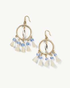 Parthenon Tassel Earrings