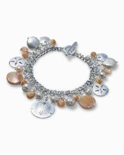 Pearl Sand Dollar Bracelet