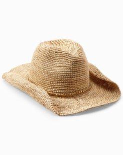 Gold-Trimmed Cowboy Hat