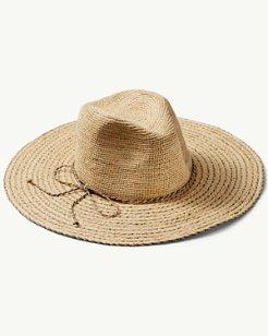 Shawn Striped Raffia Hat