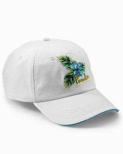 Paradise Hibiscus Cap